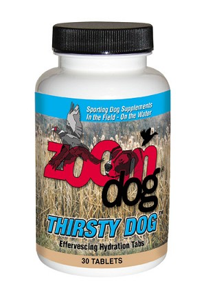 NEW !! Thirsty Dog Effervescing Hydration Tabs, 30 ct