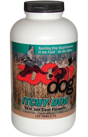 Itchy Dog Skin and Coat Formula, 180 ct
