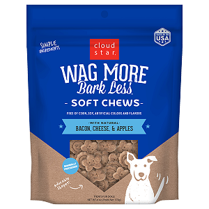 Cloud Star® Soft & Chewy Treats; Bacon, Cheese & Apple Flavor 6oz.
